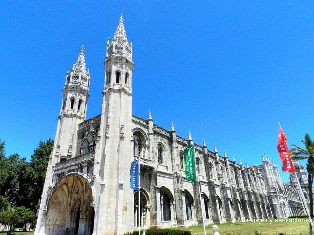 Monasterio de los Jerónimos, barrio de Belém, Lisboa