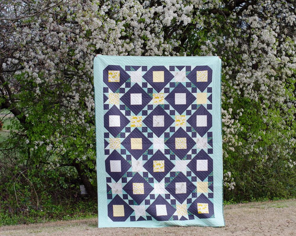 Hyacinth Quilt Designs Big Sky Fabric In Funky Christmas