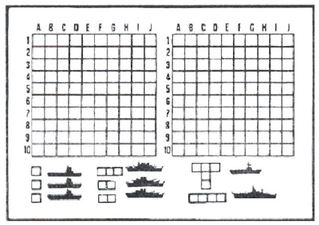 ... do jogo da Batalha Naval