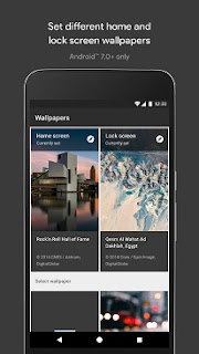 Google's Wallpapers app launches on Android