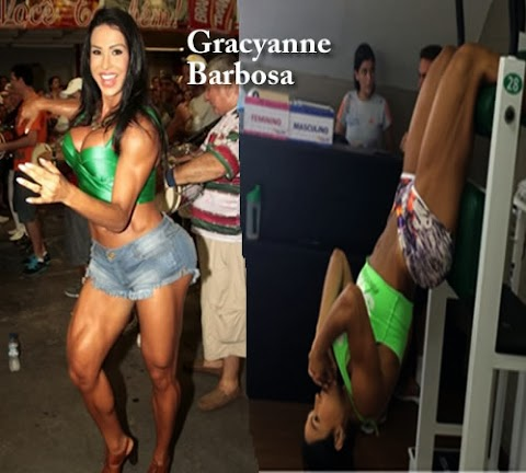 Gracyanne Barbosa Piernas Musculosas