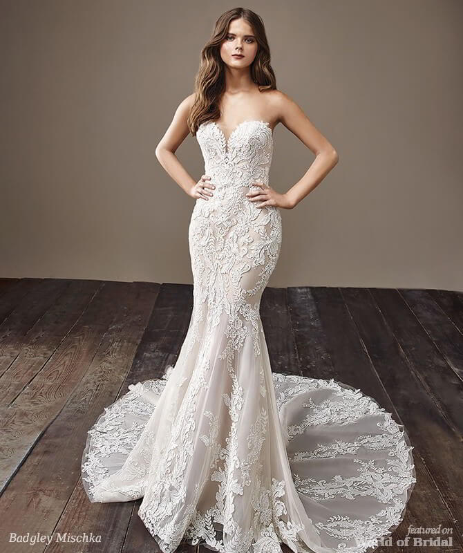 Badgley Mischka 2018 Wedding Dresses World Of Bridal