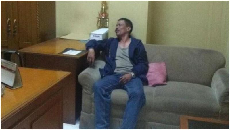 AKP Jamal Alkatiri saat diamankan Propam Polres Jaktim