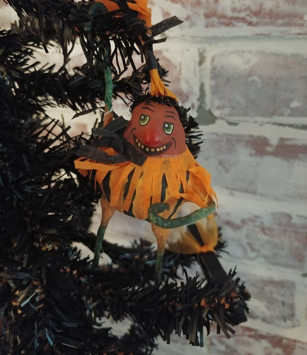 pumpkin man ornament