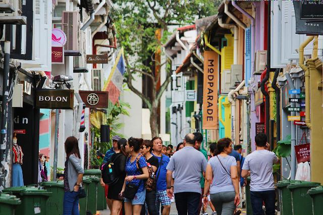 haji lane street singapore