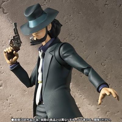 Jigen Daisuke inserito dalla Bandai nella linea SH Figuarts