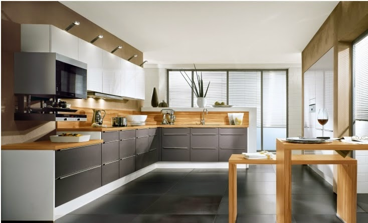 Five Basic Kitchen Layouts: Five Basic Shapes Of Modular Kitchen Designs From