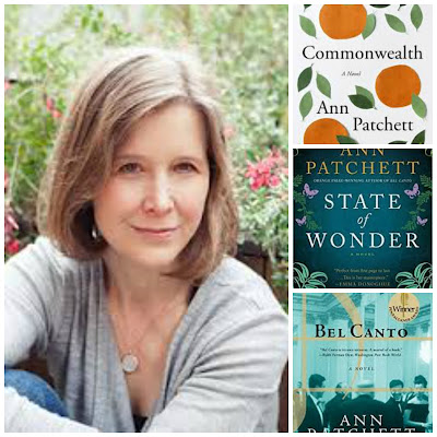 Ann Patchett author collage