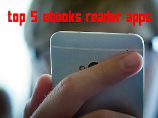best 5 ebook reader for android free, 5 books reader apps for android
