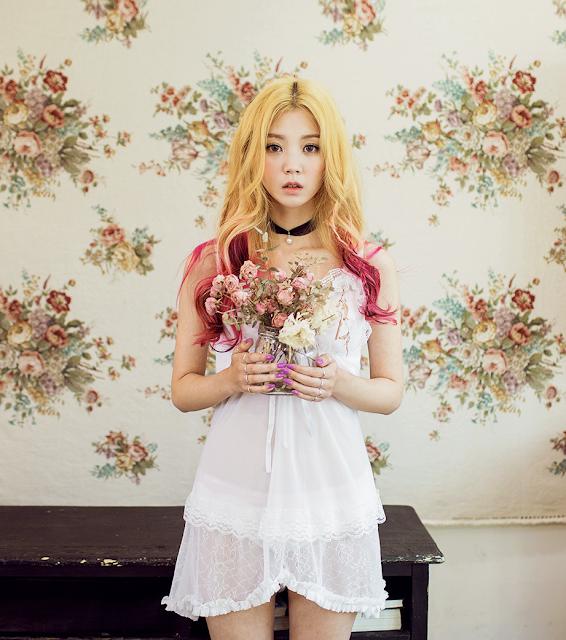 2 Chae Eun - Lingerie Collection - very cute asian girl-girlcute4u.blogspot.com