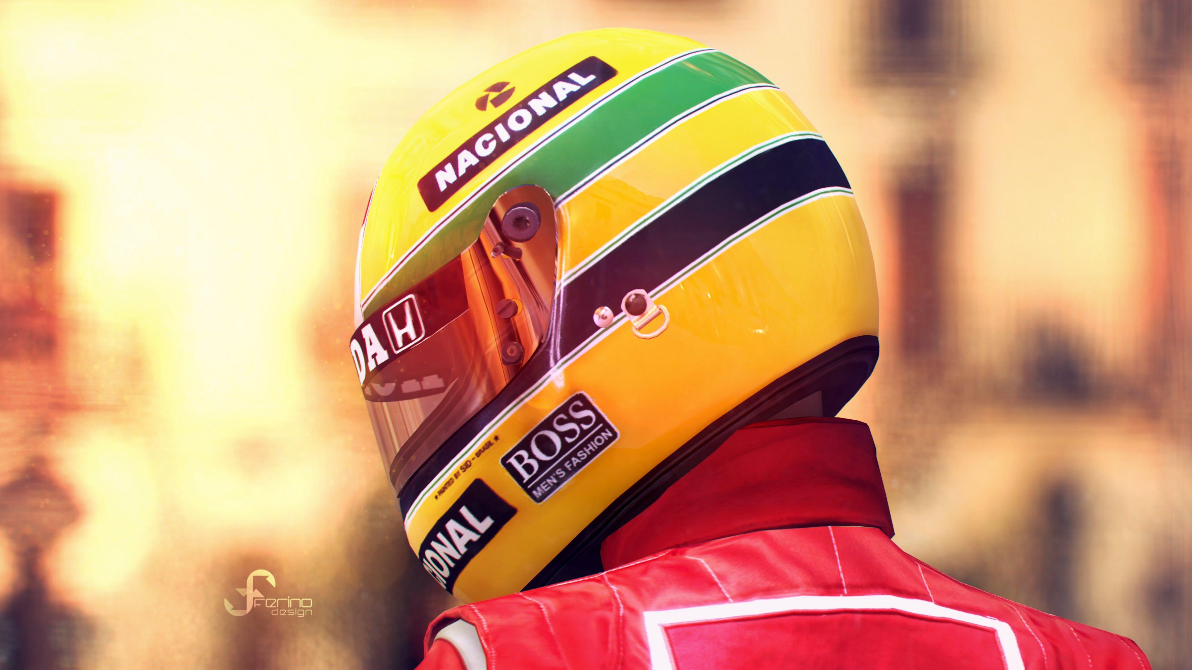 Tribute to Ayrton Senna in Gran Turismo 6 Wallpapers · 4K HD Desktop ...