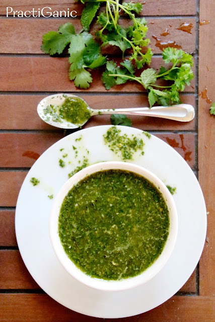 Garden Fresh Chimichurri Recipe