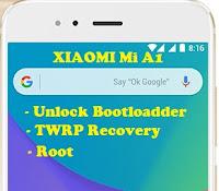 Unlock Bootloader, TWRP, Root Mi A1