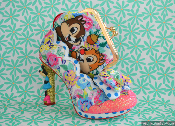 irregular choice chip n dale purse and sherbet ice cream heels