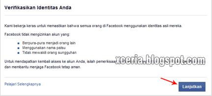 Cara Membuat Facebook - Verifikasi Identitas