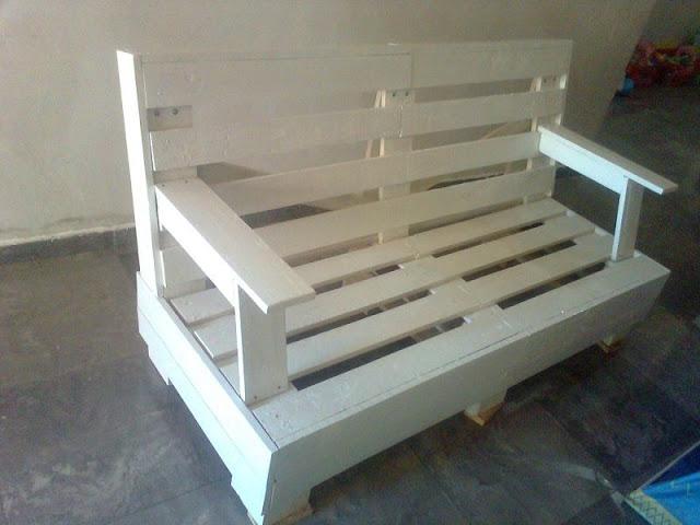 El blog de la elena un blog dulce divertido y for Muebles jardin madera palet