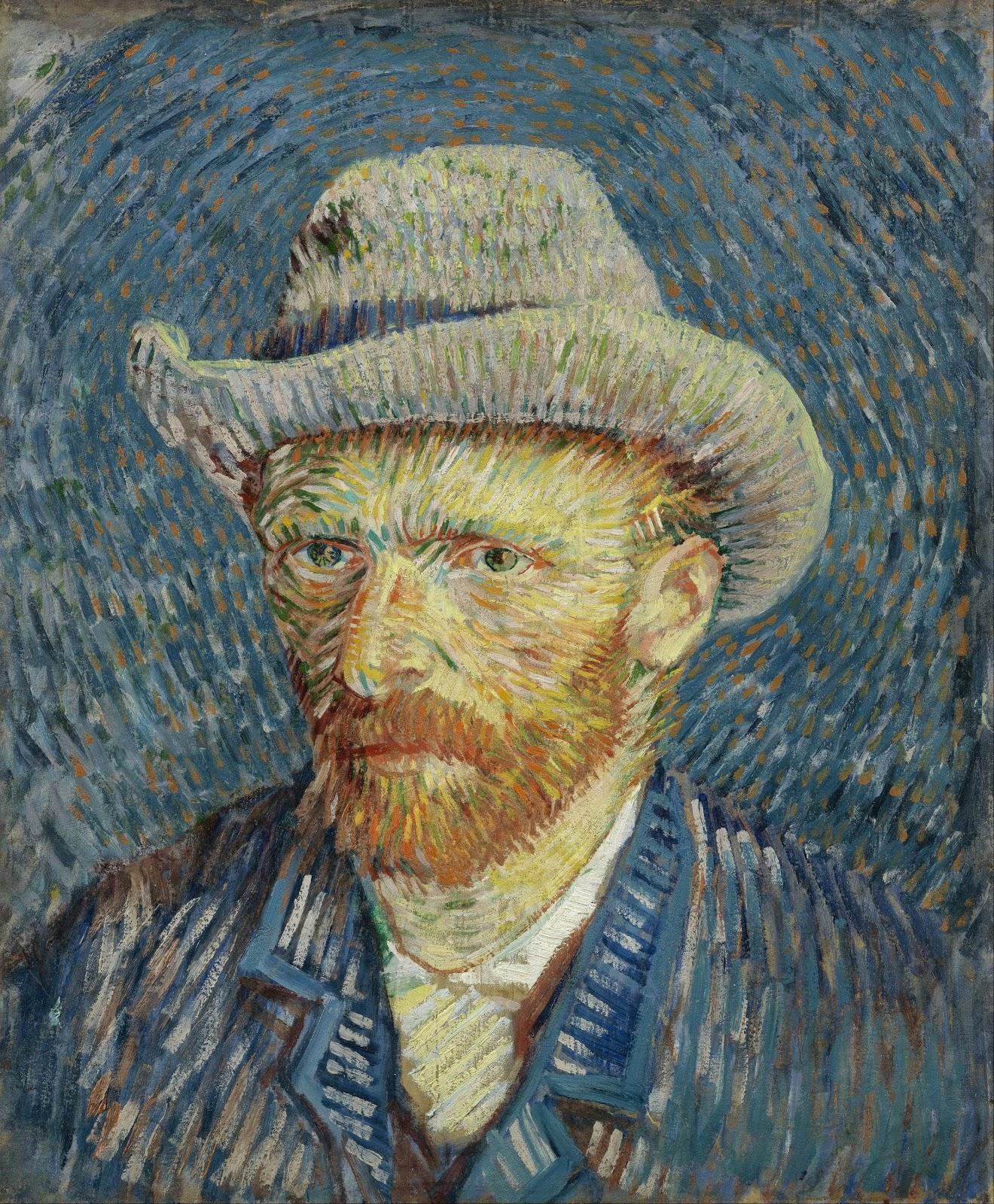 ヴィンセント・ヴァン・ゴッホの自画像