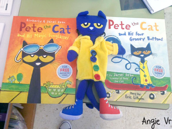 Muñeco de pete the cat - submission
