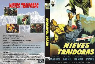 CARATULA: Nieves traidoras (Misión peligrosa)(1954) Dangerous Missionaka