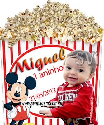 #mickeymouse #baldepipoca #personalizado #infantil