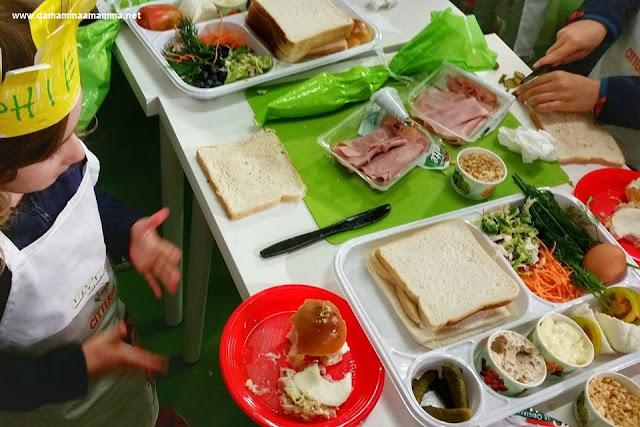 Laboratorio creativo per bambini alla Milano Food Week con Citterio