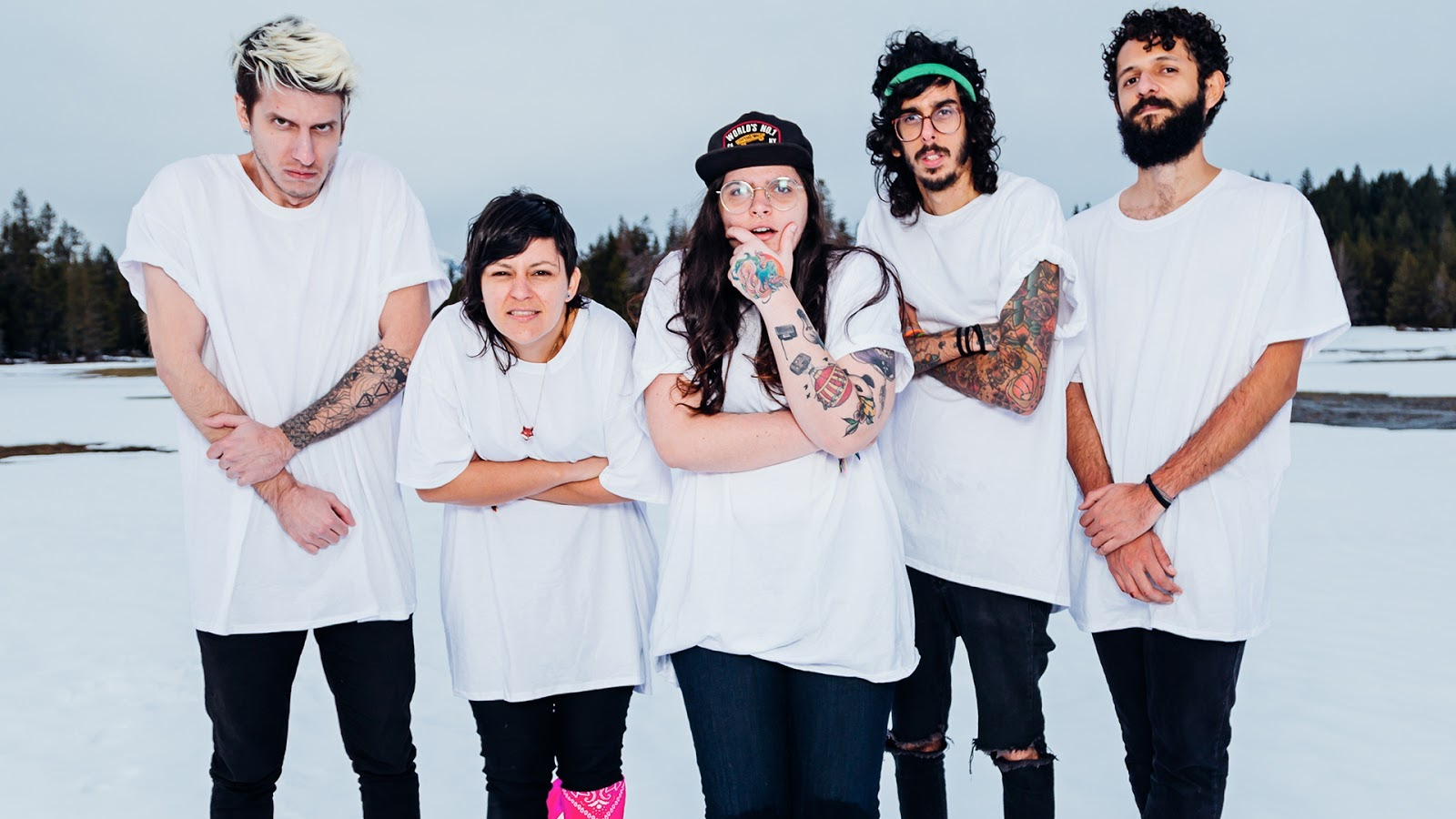 A banda do Rio Grande do Norte fez o show de lançamento do disco Unlikely na quinta, dia 10.