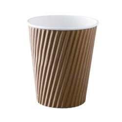 TRIPLE WALL CORRUGATED  RIPPLE CUPS & GLASSES
