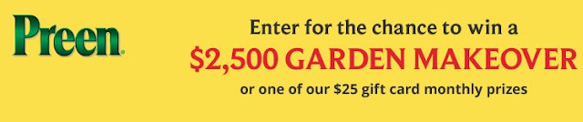 Preen wants to make gardeners dreams come true by offering them a chance to win $2500 CASH grand prizes or $25 gift cards for runner up prizes!