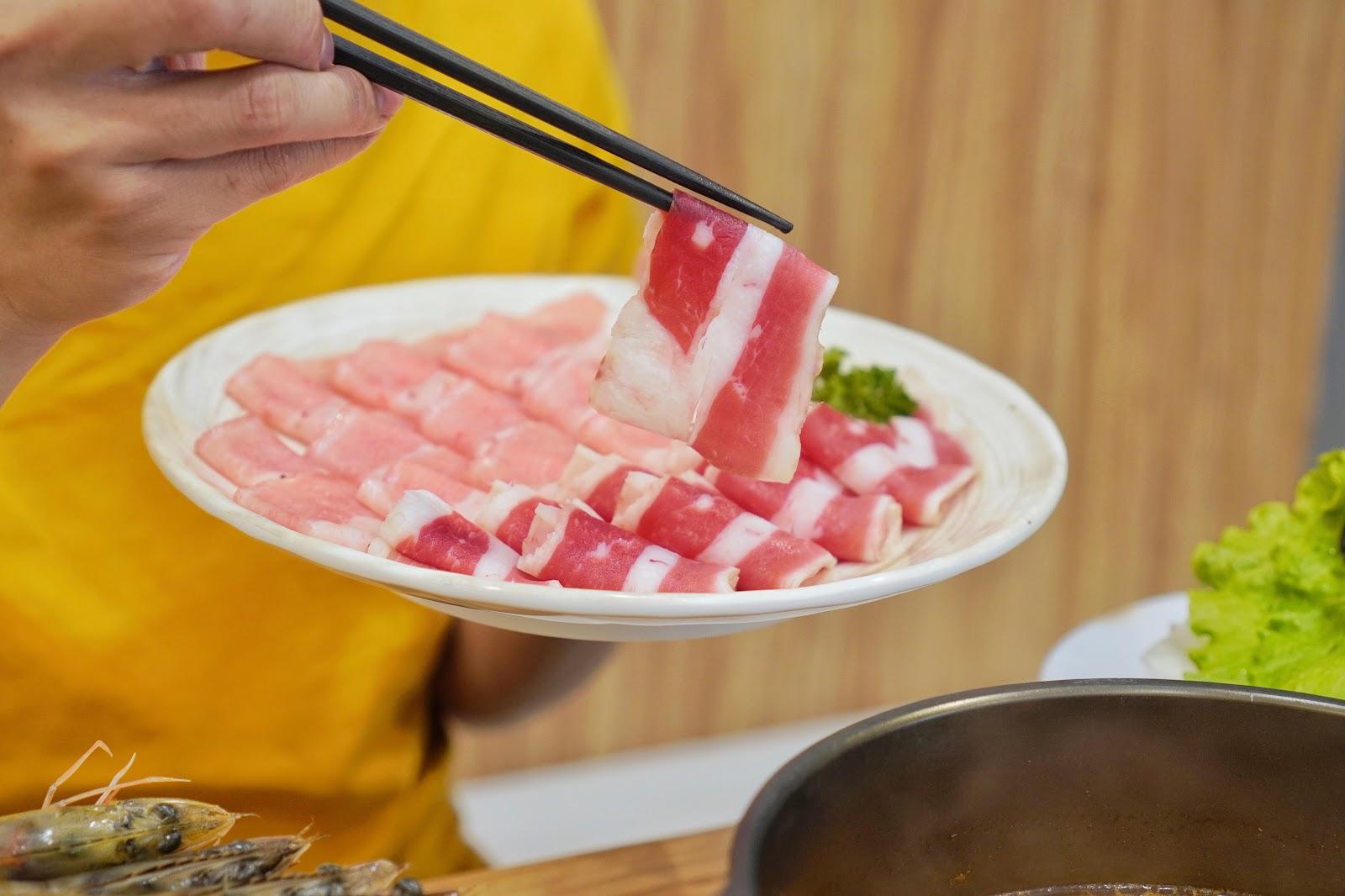 台南中西區美食【小蔡什鍋】餐點介紹 牛肉