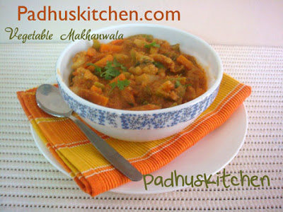 Vegetable Makhanwala-Vegetable Makhani
