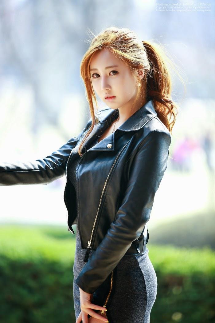Shin Se Ha - Sweaters  Leather  Cute Girl - Asian Girl-2200