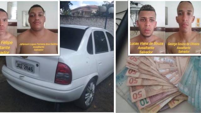 Polícia de Santo Estevão-BA desarticula quadrilha que atuava na região