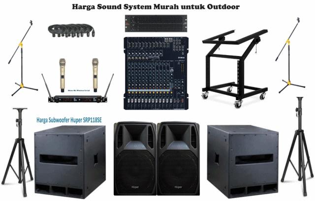 Sound System Modern Canggih