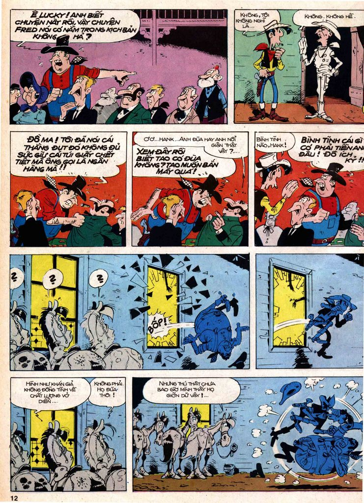 Lucky Luke tap 18 - ki si ao trang trang 10