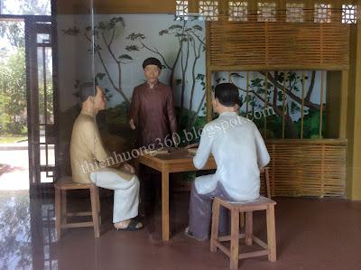 Cụ Phó bảng Nguyễn Sinh Sắc từ Sài Gòn xuống Cao Lãnh ở nhà ông Năm Giáo