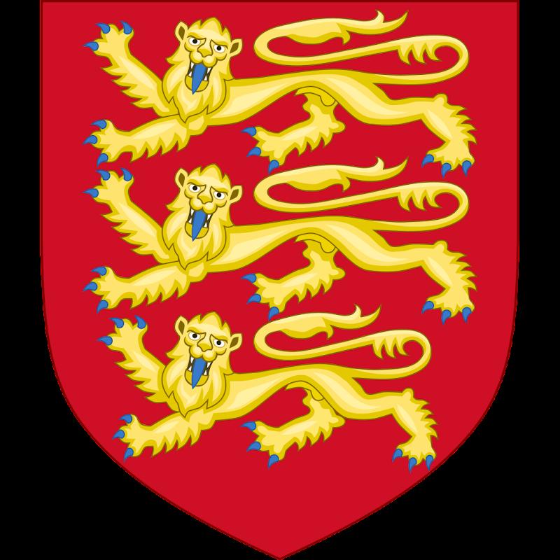 Logo Gambar Lambang Simbol Negara Inggris PNG JPG ukuran 800 px