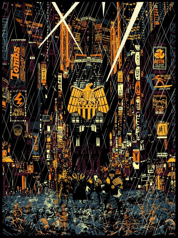 """The Blot Says   : 2000 AD Mega City Series """"Countdown to Necropolis"""