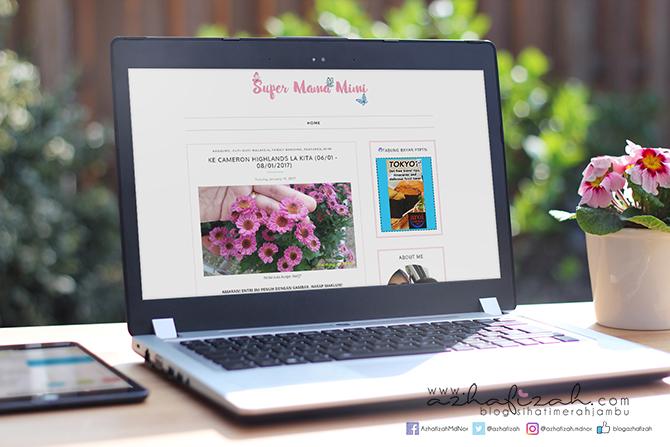 Template Blog Responsive & Design Header Wanyyeomma