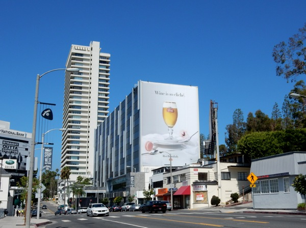 Giant Stella Artois Wine so cliché beer billboard