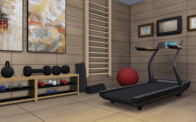 musculation Sims 4
