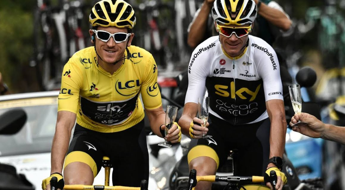 Ciclismo: Geraint Thomas ha vinto il Tour de France 2018.