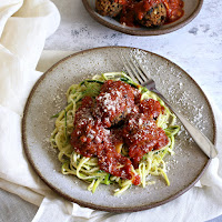Black-Bean-and-Vegetable-Meatballs-with-Zucchini-Noodles