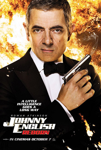 Johnny English Reborn 2011 Dual Audio ORG Hindi 720p BluRay 800MB poster