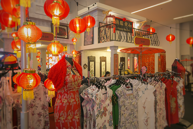 Avenue k shopping mall celebrates chinese new year with - Lunar new year decorations ...