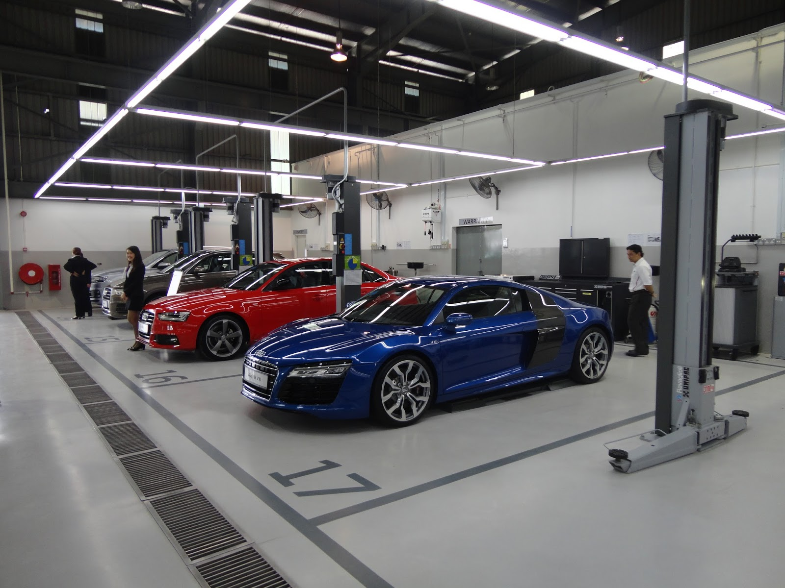 Motoring-Malaysia: THE AUDI KUALA LUMPUR SERVICE CENTRE IS NOW OPEN