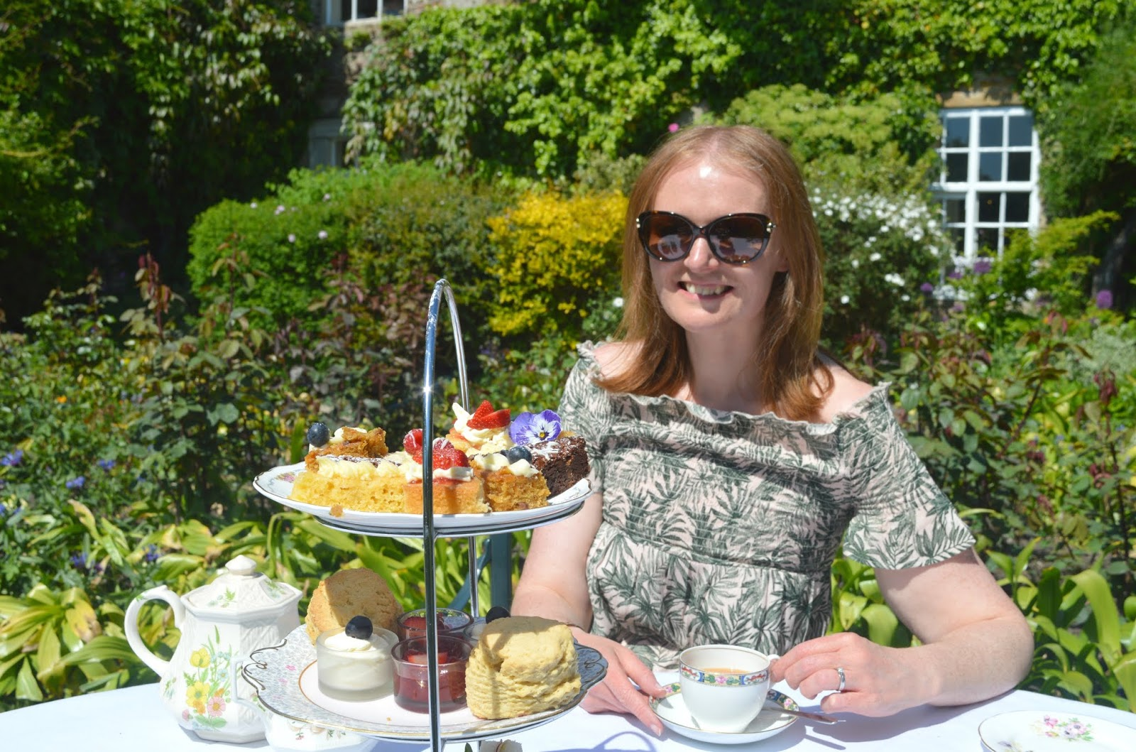 Crook Hall and Gardens, Durham - Afternoon Tea Stand