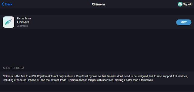 اسهل 4 خطوات لتحميل جيلبريك iOS 12.1.2 بإستخدام Chimera