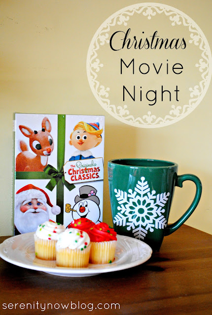 Host a Christmas Movie Night for the Kids! from Serenity Now