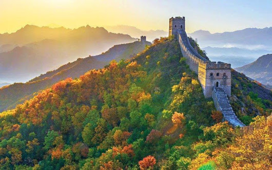 The Great Wall Of China | beautiful places in the world
