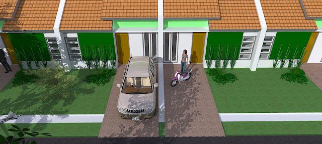 Gambar Rumah DWG